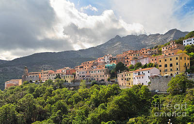 Photograph -  Marciana Village - Elba Island by Antonio Scarpi