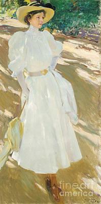 Maria At La Granja Art Print