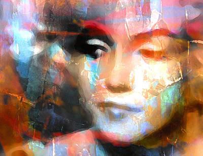 Marilyn Art Print by Mal Bray