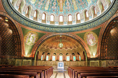 Byzantine Photograph -  Memorial Chapel by Art Spectrum
