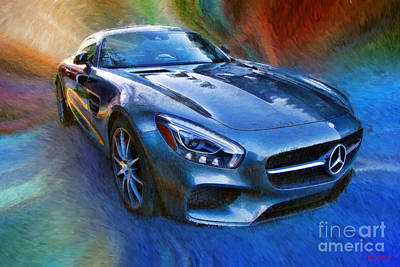 Photograph -  Mercedes-amg Gt S by Blake Richards