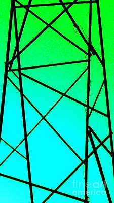 Photograph -  Metal Frame Abstract by Eric  Schiabor