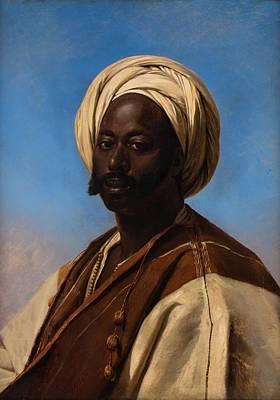 Arab Painting -  Middle Eastern Muslim Man by Eugene Verboeckhoven