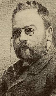 Mile Edouards Charles Antoine Zola Art Print