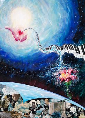 Painting - Flygende Lammet Production            Mind Renewal by Sigrid Tune