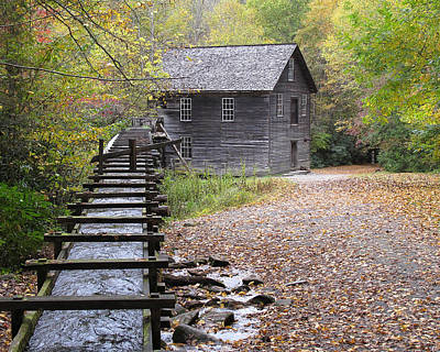 Mingus Mill - Color Art Print by Fred Baird