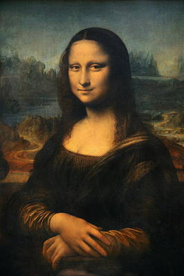 Photograph -  Mona Lisa by Songquan Deng