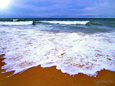 Peace Photograph -  Montauk 1 by Cindy Greenstein