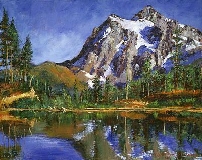 Mountain Stillness Original by David Lloyd Glover