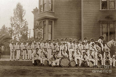 Photograph -  Native Sons Of The Golden West Sept. 9, 1908 by California Views Mr Pat Hathaway Archives
