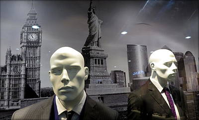 Suggestive Photograph -  New York City  Martians #  2 by Daniel Gomez