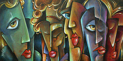 Opinion Painting -  ' No Choices ' by Michael Lang
