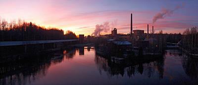 Photograph -  Nokia Paper Mill by Jouko Lehto