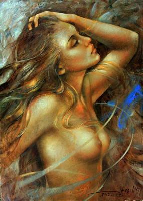 Nuda Art Print by Arthur Braginsky