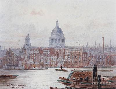 Pauls From Bankside Art Print by MotionAge Designs