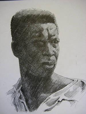 Photograph Of K. C. Art Print by Dalushaka Mugwana