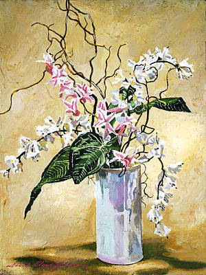 Painting -  Poetic Still Life by David Lloyd Glover