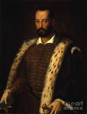 Hollywood Style -  Portrait of Francesco I de Medici by MotionAge Designs