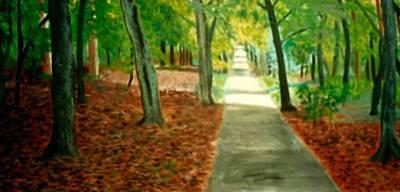 Queen Beatrixs Path Art Print by Richard  Hubal