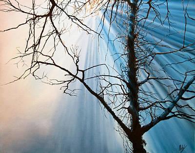 Rays Of Light Art Print