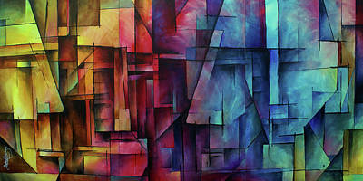 Shift Painting -  ' Remnants Of Reason ' by Michael Lang