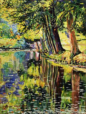 Riverside Impressions Art Print