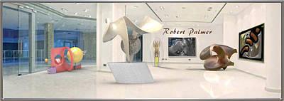 Digital Art - ' Robert Palmer At Large ' by RSVPalmer