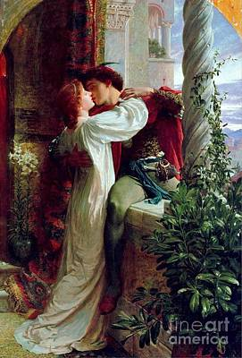 Romeo And Juliet Painting -  Romeo And Juliet by MotionAge Designs