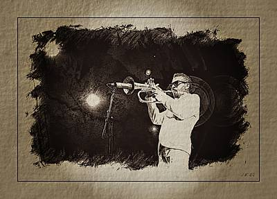 Free Jazz Photograph -   Roy Hargrove by Jean Francois Gil