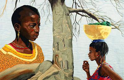 Painting -  Sahel  by Hollis Chatelain