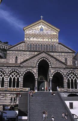 Saint Andrea In Amalfi, Italy Art Print by Richard Nowitz