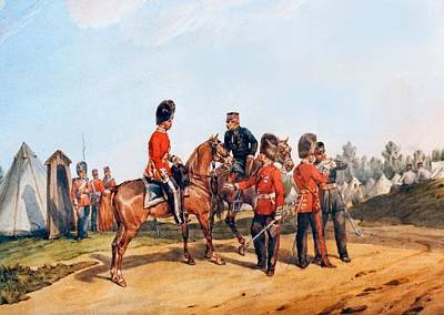 Scot Painting -  Scots Guards  by MotionAge Designs