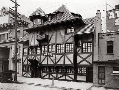 Scranton Pa Zenke's Alt Heidelberg Restaurant Early 1900s Art Print