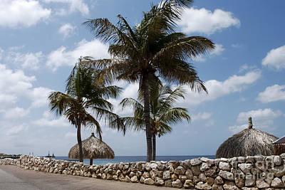 Puerto Rico Photograph -  Seafront In The Peaceful City Klarendijk, Bonaire by Dani Prints and Images