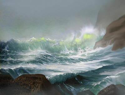 Seaswell Art Print by Robert Foster