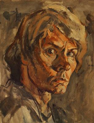 Painting -  Self Portrait by Tim  Heimdal