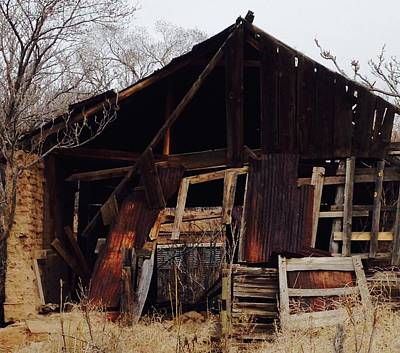 Photograph - Barn by Erika Chamberlin