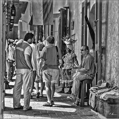 Photograph -  Shopping Arcades B/w by Hanny Heim