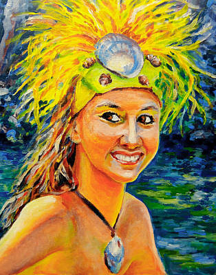 Painting -  Smile Hawaii by Svetlana Nassyrov