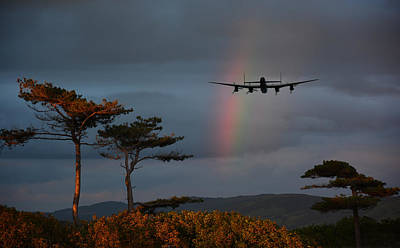 Canadian Heritage Photograph -  Somewhere Over The Rainbow by Jason Green