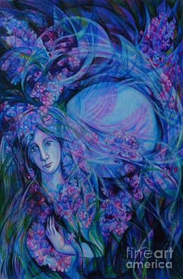 Song Of Lilac Art Print by Anna  Duyunova