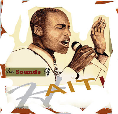 Sounds Of Haiti Poster Print by Bob Salo