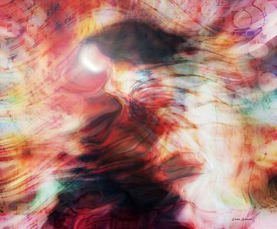 Spirit Dance Art Print by Linda Sannuti