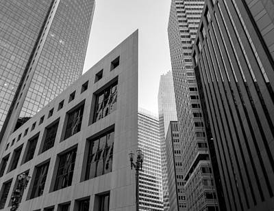Photograph -  Structures Of San Francisco 10 by Jonathan Nguyen
