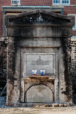 Photograph -  St Louis I Cemetery And Beer by Kathleen K Parker