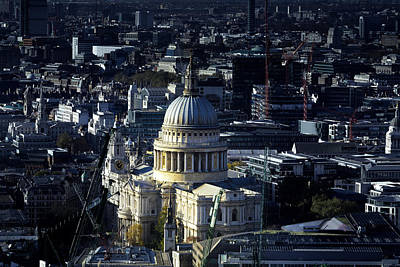 London Skyline Photograph -  St Pauls Cathedral London by Ian Hufton