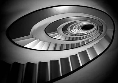 Staircase Photograph - @ by Stefano Rapino