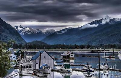 Photograph -  Stewart B. C. Boat Harbor by Dyle   Warren