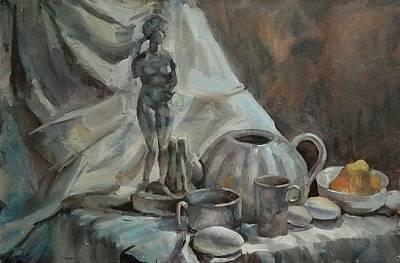 Still Life With Venus Original by Nina Silaeva