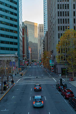 Photograph -  Street Of San Francisco 4 by Jonathan Nguyen